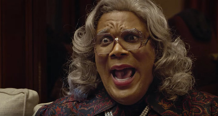Madea is indeed frightening.