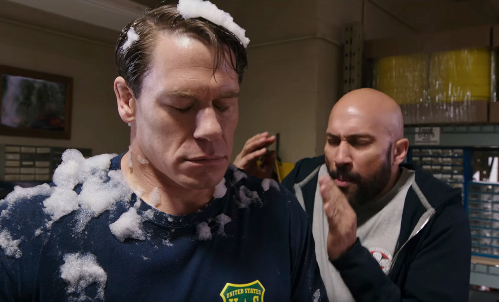 John Cena S Playing With Fire Looks Like A Raging Dumpster