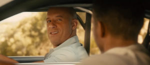 Vin sneers goodbye in Furious 7